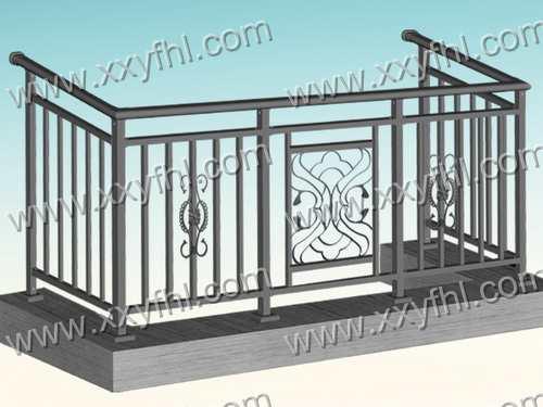 山东铝合金阳台护栏铁艺护栏报价美观护栏做法