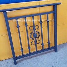 阳台栏杆样式优雅室内铁艺栏杆施工图片