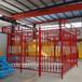 开封郑州许昌漯河焦作塔吊围栏标准化防护棚钢筋棚供应商