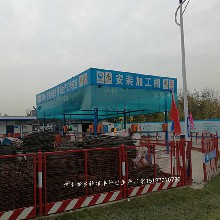 北京生产锦�e银丰钢筋棚厂家图片
