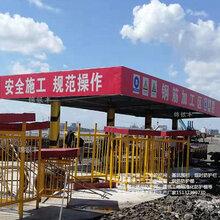 广西生产锦银丰钢筋棚公司工地钢筋棚厂家图片