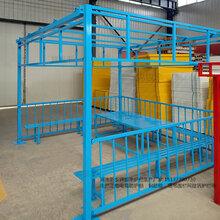 上海生产塔吊防护护栏塔吊基坑防护栏杆图片