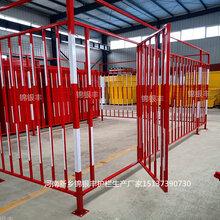 施工临边安全护栏加工河南厂家塔吊护栏塔吊防护棚图片
