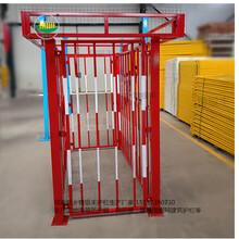 周口工地栏杆工地临边基坑围栏网施工现场围栏图片
