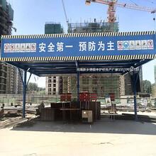 辽宁生产锦银丰钢筋棚价格工地钢筋棚厂家图片