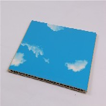 咸阳竹木纤维集成墙面400宽板生产厂家图片