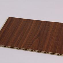 湘西竹木纤维集成墙板400宽板厂家直销图片