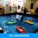 方向盤遙控船兒童游樂公園擺地攤娛樂賺錢游樂項目