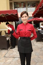 临沂酒店工作服专业订制公司伟红服饰