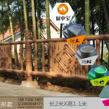 贵州安顺市景观模制中心仿木栏杆硅胶模具厂家图片