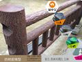 海东仿树栏杆硅胶模具厂家图片