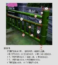 直销宁夏省仿竹栏杆硅胶模具,来图纸定制各种护栏硅胶模具图片