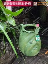 直销全国仿木园林景观制品专利产品垃圾桶模具图片