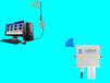 AHM直销无线pm2.5/pm10空气质量监控系统