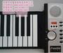 博锐钢琴厂家供应49键新手娱乐带外音电子琴批发