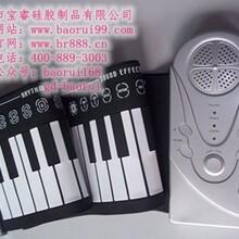 博锐手卷钢琴49键少儿趣味手卷电子琴价格实惠厂家直销图片