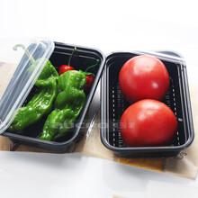 一次性快餐饭盒加厚环保单格盒高档外卖打包盒厂家直销方便快捷