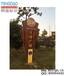 常州法制公园防腐木形象标识