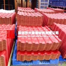 龙华顶棚树脂瓦防腐防晒树脂瓦销售优质树脂瓦厂家