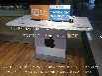 手机体验台三星华为体验桌不锈钢木纹展示台手机柜台新款