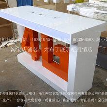新款金立手机柜台VIVO收银台中国联通业务受理台体验台配件柜厂家
