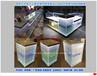吉林延边市生产华为三星小米VIVO乐视OPPO铁质土豪金喷砂手机柜台收银台前台配件柜厂家