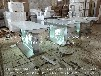 供应台州电信业务受理台体验台移动体验桌圆形苹果木质烤漆体验台玻璃柜