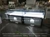 2016新款树脂发光字华为手机柜台乐视vivo手机柜台定制弧形转角手机柜收银台厂家
