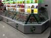 巴彦倬尔市订做木质烤漆烟柜酒柜货架柜大型超市烟酒柜玻璃柜收银台前台