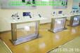 惠州定做华为手机柜台新款铁质华为专柜体验台平果体验桌玻璃展示柜厂家