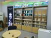 2017新款烤漆精品多功能手機配件柜展示架靠墻展示柜掛鉤貨架帶儲物柜可上鎖