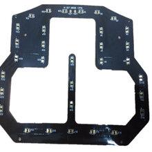 电子瘦身带无卤FPC柔性线路板数码影音双面HDI电路板厂