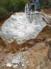 乌兰察布岩石劈裂机液压劈裂棒工作视频劈石器