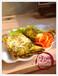 果蔬营养煎饼加盟进行中新式煎饼扇形美食健康特色