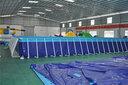 山东日照移动式支架水池游泳池图片