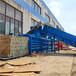 内蒙古赤峰卧式120吨废纸箱液压打包机厂家直销