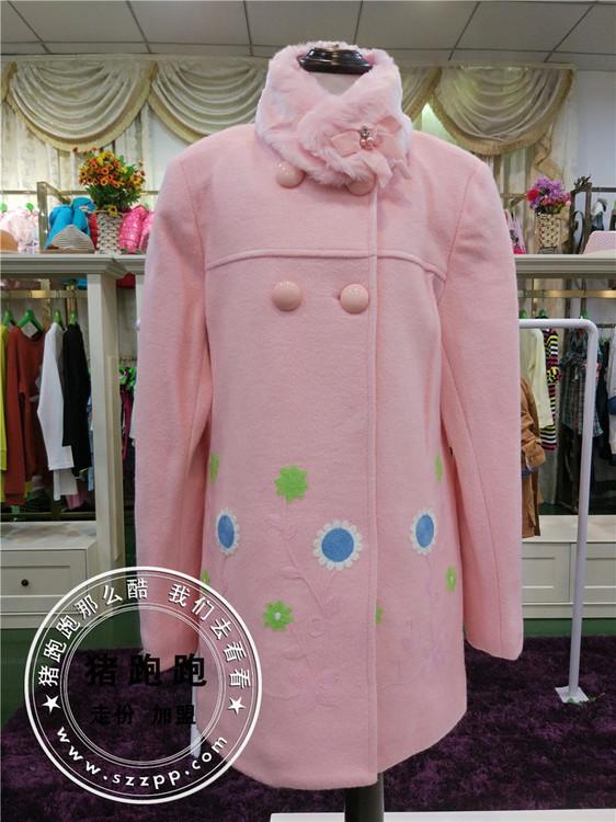 河北最大童装批发市场16年新款童装大衣大量供应实在的价格