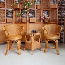 圆扁藤几斜织椅_来宾试返惠家具_贺州休闲椅凳