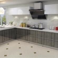 厨柜十大品牌欧意厨柜多米纳晶悦系列高分子整体品牌厨柜图片