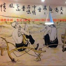淄博饭店墙绘