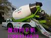 白銀混凝土攪拌罐車攪拌車圖片安全可靠