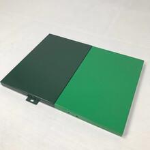 氟碳綠色鋁單板佛山定制廠家彩色造型2.0/2.5/3.0鋁單板圖片