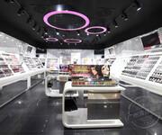 独特新颖的化妆品展柜可让销售业绩一路飙升图片