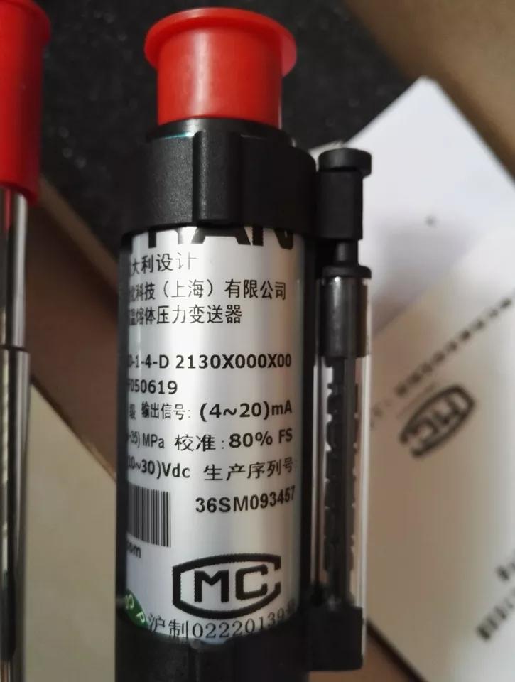 GEFRAN杰佛伦CE1-6-M-B35D-1-4-D高温熔体压力变送器塑机用