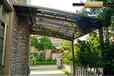 衡水定制汽车停车棚遮阳棚户外车库铝合金停车篷汽车遮雨棚