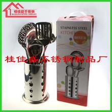 不锈钢筷筒厨具套装筷筒收纳筒餐具笼筷架厨房置物架