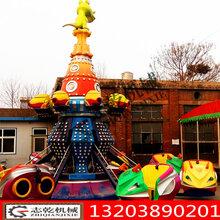 自控旋转飞机儿童旋转升降飞机广场公园游艺设施图片