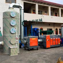 光氧催化廢氣處理設備干式噴漆柜噴淋塔噴漆房廢氣處理整套設圖片