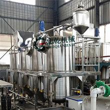 生产压榨胡麻油亚麻籽油精炼设备生产线小型一级油精炼设备图片