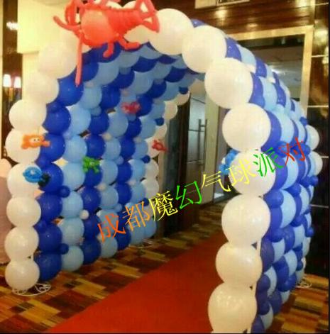 节日节庆布置气球,庆典活动布置